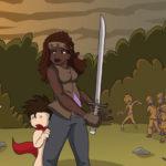 Illustration réalisée pour l'ABCD Femmes de fiction