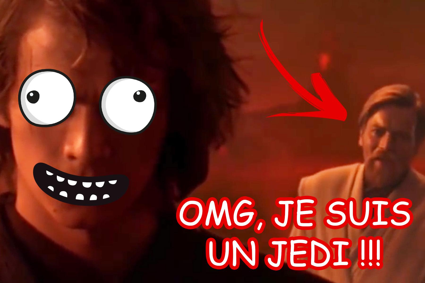 Note #14 : Je suis un Jedi, ça tourne mal !!! xD LOL